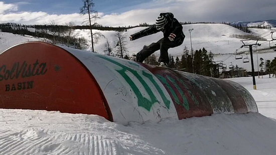Granby, CO: With six terrain parks, there is always fun to be had