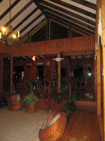 Bosquemar Quintay: el salon muy acogedor