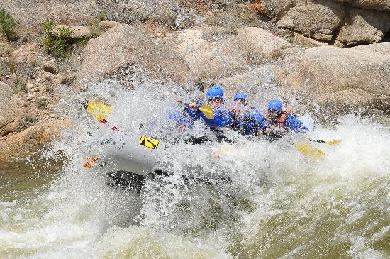 River Runners: Heading down the Zoom Flume rapid