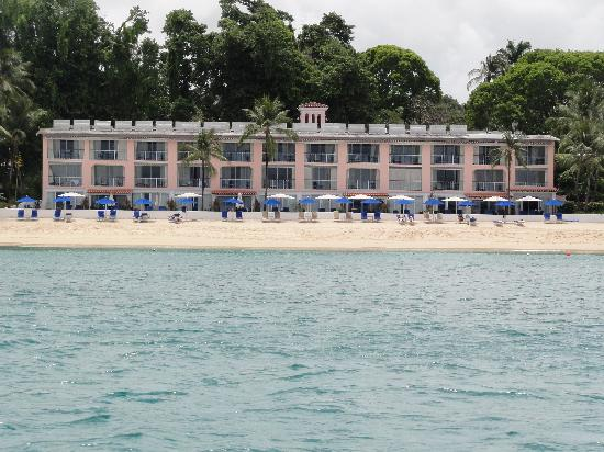 Fairmont Royal Pavilion: Hotel From The Sea