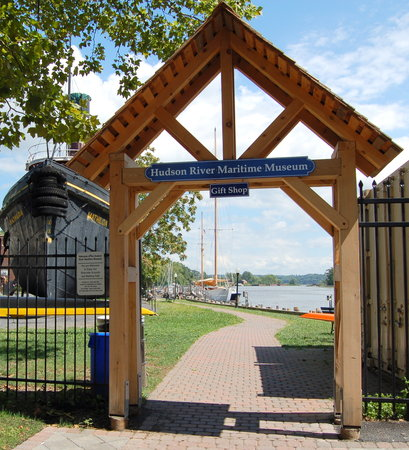 Hudson River Maritime Museum : entry and mathilda