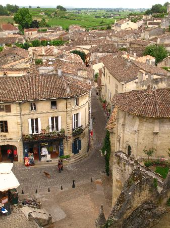 Saint-Emilion, Frankrike: village overview
