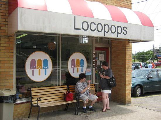 Locopops Gourmet Popsicles: exterior Locopops