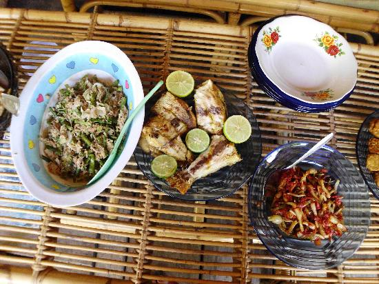 Krui, Indonesia: indonesian food fish special spicy