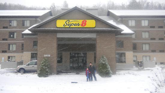 Super 8 Boone NC : Hotel bem localizadp.