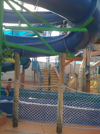 Americana Resort: pic of one of the slides