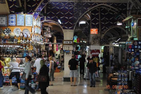 Istanbul, Turkey: Grand Bazar