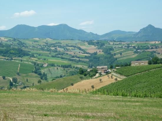 La Girandola: view on te 'neighbourhood'