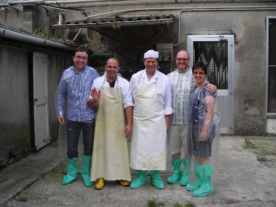 Emilian Land Tour : Visita al Caseificio del Parmigiano