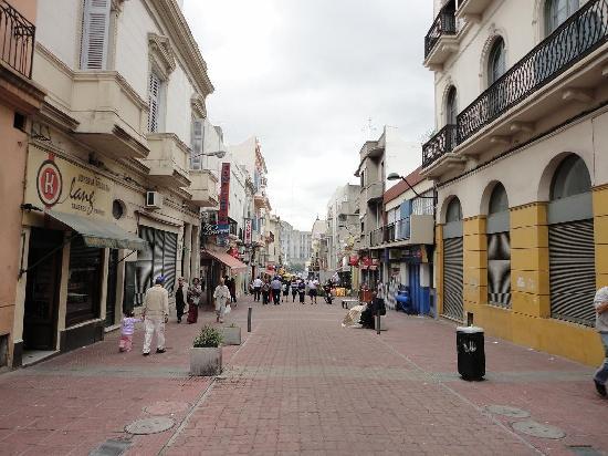Montevideo, Uruguay: Peatonal de ciudad vieja