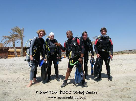 New Son Bijou Diving Center : offshore (beach) diving - www.newsonbijou.com -
