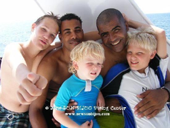New Son Bijou Diving Center : Men on board! watch out girls ;-) - www.newsonbijou.com -