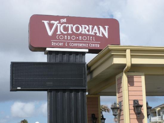 The Victorian Condominiums : Sign