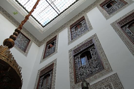 Riad Dar Chrifa : High and Ornate