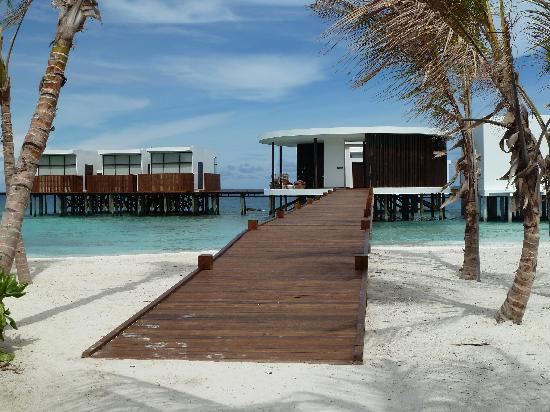 Jumeirah Dhevanafushi: View of the Spa area