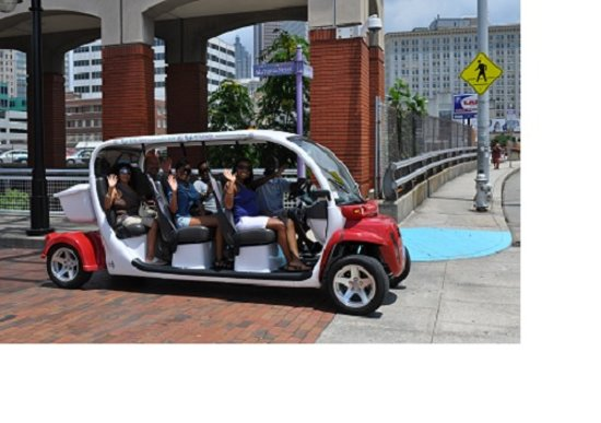 Atl Cruzers Electric Car Segway Tours Great Group Headed Out For A Tour
