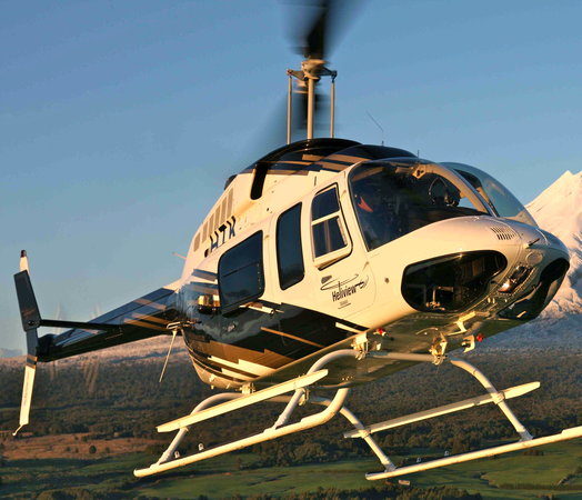 Heliview Flights: Heliview's 7-seater Long Ranger helicopter