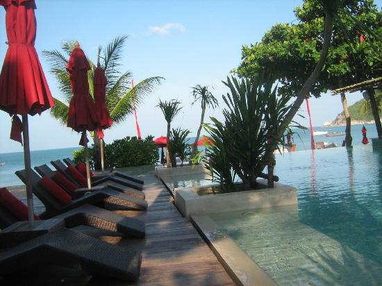 Anantara Rasananda Koh Phangan Villas: spiaggia