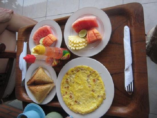 Ubud Sensasi Bungalow: Breakfast