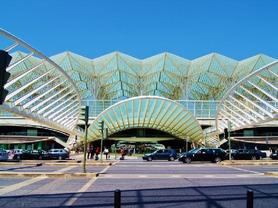 Estacao Gare do Oriente: The Oriente Station