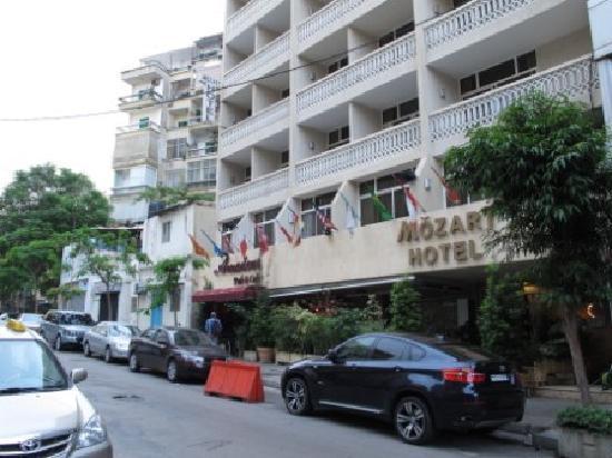 Mozart Hotel : External