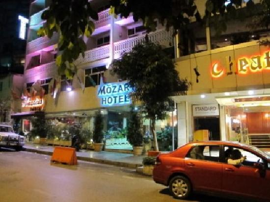 Mozart Hotel : External - night