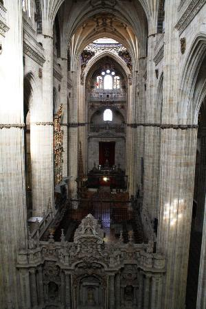 Salamanca, İspanya: inside the new cathedral