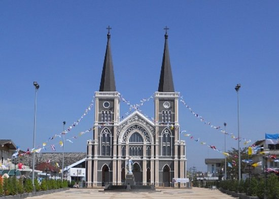 Chanthaburi, Thaïlande : Cathedral of the Immaculate Conception