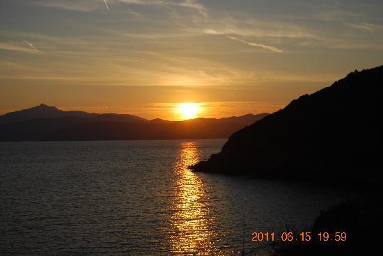 Capoliveri, Italia: tramonto
