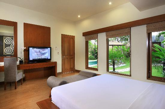 Mutiara Bali Boutique Resort & Villas: suite villa ome bedroom