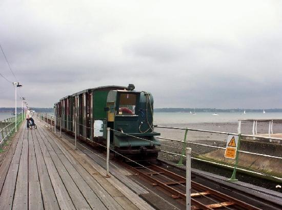 Southampton, UK: Hythe Pier Train