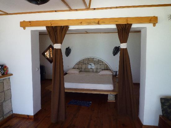 Ankasy Lodge : Une des pièces du bungalow