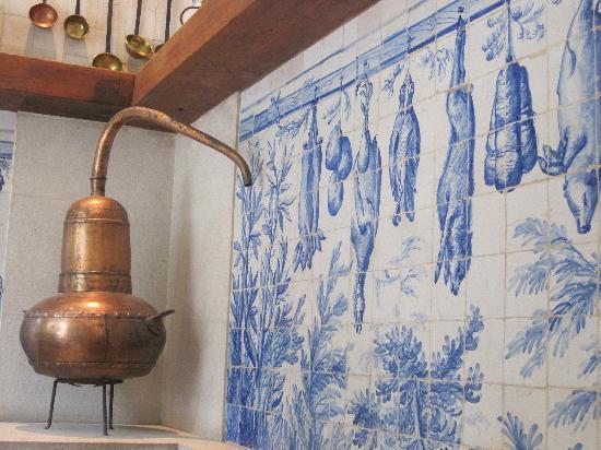 Museo Nacional del Azulejo: un angolo del bar ristorante...