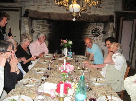 Dinner at Le Mas Azemar