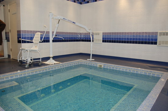 The Bond St. Annes Hotel: Hydrotherapy pool at the St Anne's Hotel