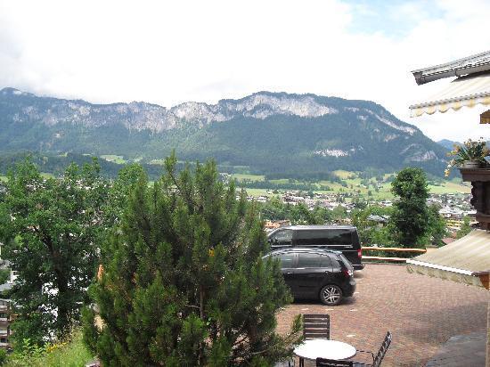 Apartotel Sonnleiten: Aussicht vom Balkon
