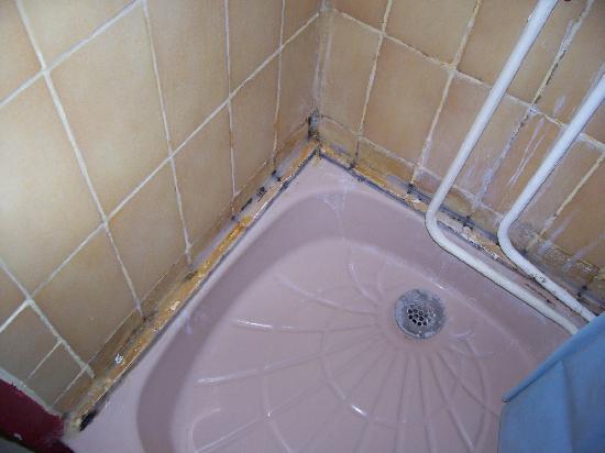 Hotel du Pont Neuf: shower