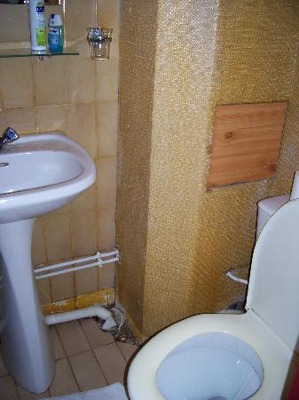 Hotel du Pont Neuf: toilette