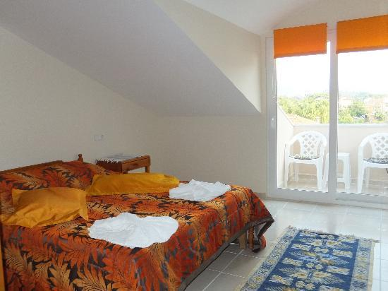 Mehtap Hotel Dalyan: This is called the orange room