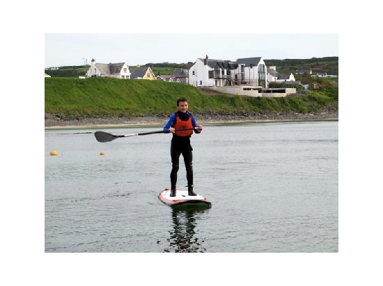 Surf Sup NI: SUP'n in the dock of the bay