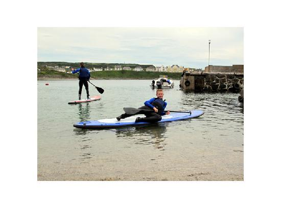 Surf Sup NI: Chilling on the SUP