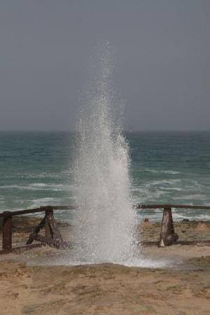 Marneef Cave: Wasserfontäne