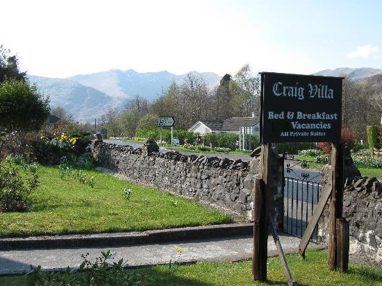 Craig Villa Guest House: Cruachan in the Distance