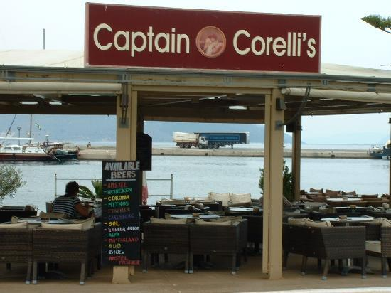 Mirabel City Center Hotel: Captain Corellis Restaurant, Sami