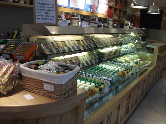 TazZa Coffee: all the goodies