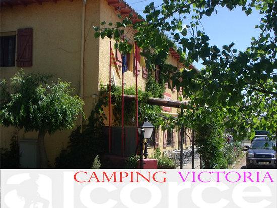 Camping Victoria: Recepcion de camping