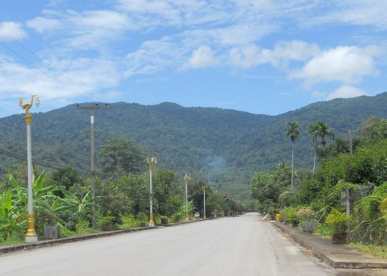 Namtok Phlio National Park: 2km drive to the park at end of this road