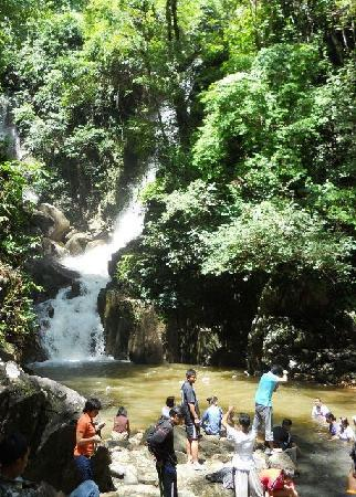Chanthaburi, Thailandia: Nearest waterfall to park entrance