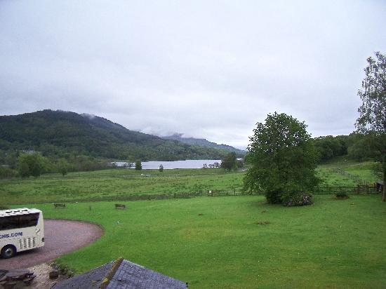 Loch Achray Hotel: View From Bedroom 212