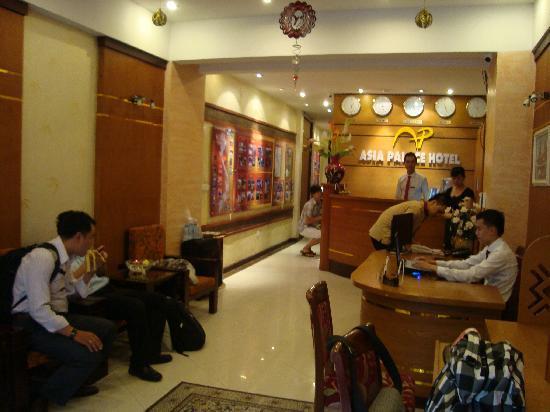Asian Golden Lake: lobby